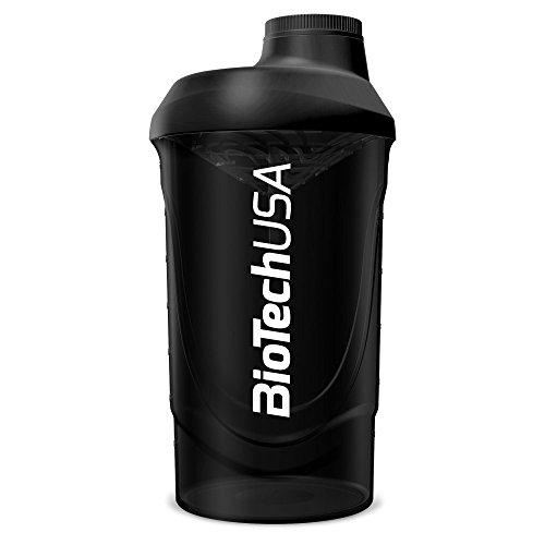 BioTech USA Vague Shaker 600 ml Noir