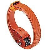OTTOLOCK Combination Bike Lock | Lightweight & Compact | Theft Deterrent for Quick Stops (OTTO Orange, 30 Inch)