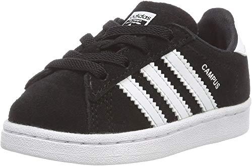 Adidas Campus El I, Zapatillas de Deporte Unisex niño, Negro (Negbas/Ftwbla 000), 25 EU