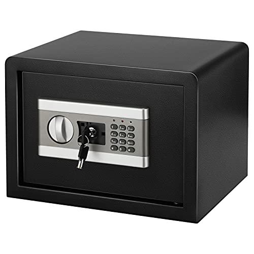 Caja de seguridad segura de la contraseña electrónica Caja de seguridad del teclado de la seguridad del teclado de la caja del teclado All Steel in-wall Caja de seguridad digital Caja de bloqueo digit