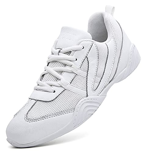DADAWEN Cheer Shoes for Girls Cheerleading Dance Shoes Athletic Sport...