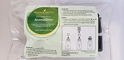 Young Living AromaGlide Roller Fitments - 10 pack
