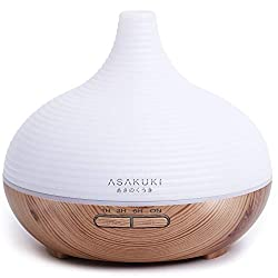 ASAKUKI 300ML Premium, Essential Oil Diffuser