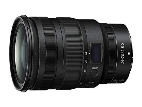 Nikon Nikkor Z 24-70 mm f/2.8 S, Obiettivo per Nikon Z Serie S Zoom Standard, Professionale, Nero [Nital Card: 4 Anni di Garanzia]