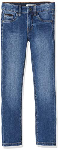 NAME IT Jungen NKMTHEO DNMTACARL 2302 Pant NOOS Jeans, Blau (Medium Blue Denim Medium Blue Denim), (Herstellergröße: 140)