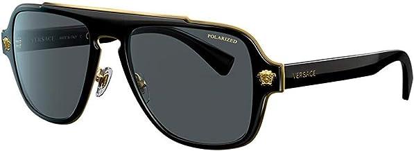 Versace MEDUSA CHARM VE 2199 MATTE BLACK/GREY 56/18/145 men Sunglasses