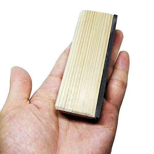Liyafy 17cm/6.69Inch Guitar Fret File Edge Sanding Leveling File Luthier Tool for Guitar Bass Ukulele Banjo Mandolin