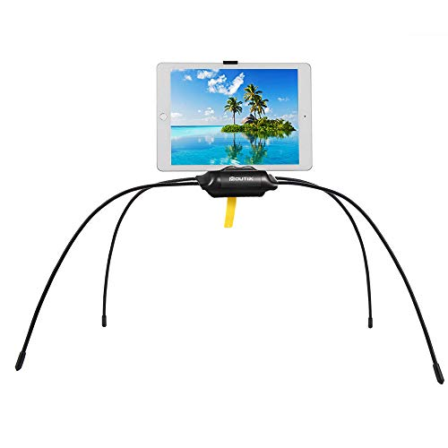 MOUTIK Tablet Phone Stand, Spider Mounts for Bed Sofa Desk Table Flexible Long Legs for Tablets, Smartphones,for Kindle for Reading Outdoor Picnic Camping Beach