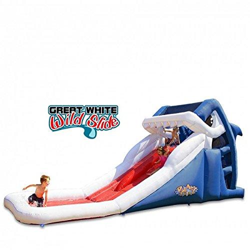 Blast Zone Great White Wild Inflatable...