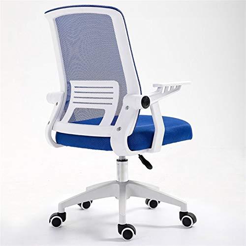 HMBB Sillas de escritorio, silla de oficina, silla giratoria de oficina con brazo giratorio y altura ajustable