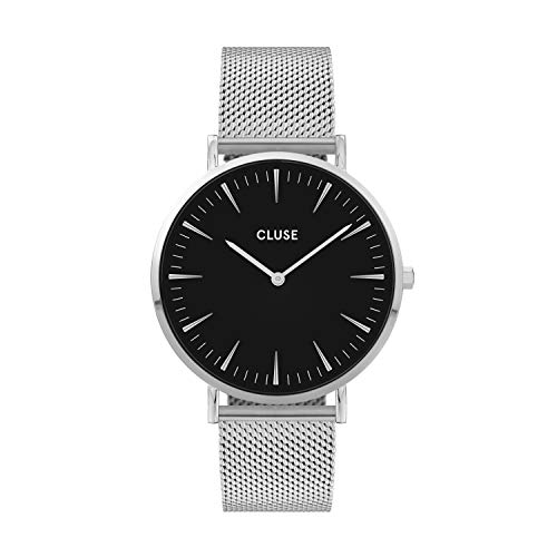 CLUSE Damen Analog Quarz Uhr mit Edelstahl Armband CW0101201004