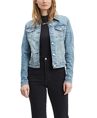 Levi's Women's Original Trucker Jacket, Jeanie, Small