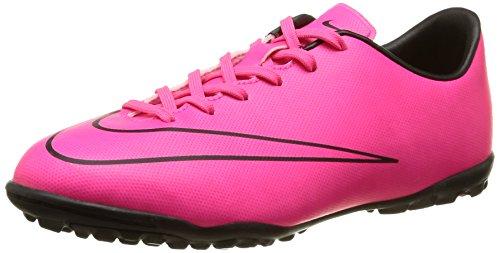 Nike Herren Mercurial Victory V TF Fußballschuhe, Pink (Hyper Pink/Hyper Pink/Black/Black), 38.5 EU