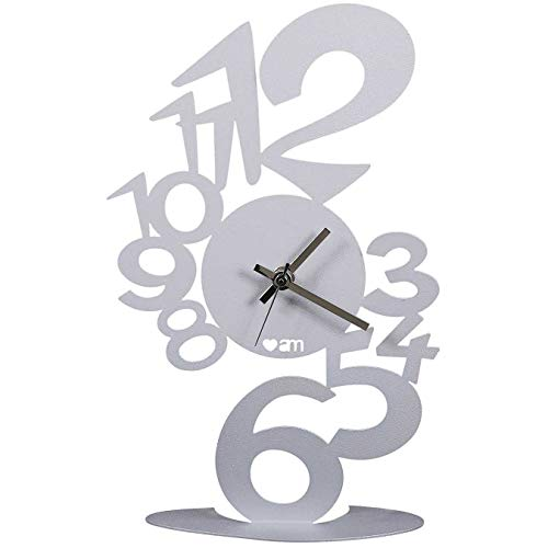orologio da tavolo arti e mestieri OROLOGIO LUPIN TAVOLO ALLUMINIO LINEA LOVE