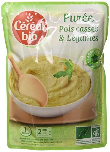 Céréal Bio Doypack Purée Pois Cassés Légumes 250 g