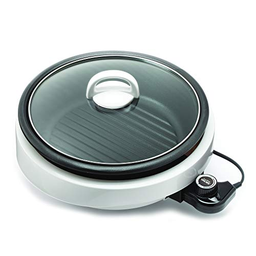 Aroma Super Pot White Indoor Grill