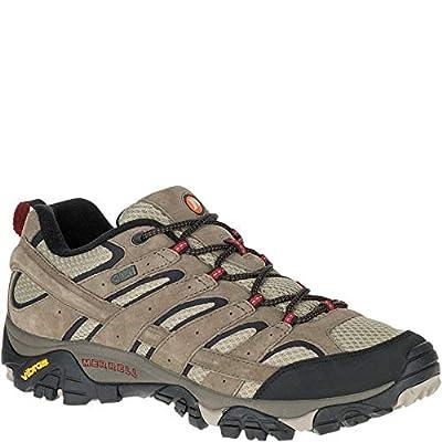 Merrell Men's Moab 2 Waterproof Hiking Shoe, Bark Brown, 7 M US