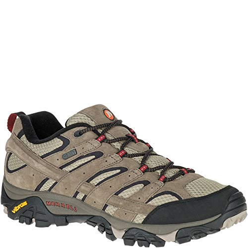 Merrell Men's Moab 2 Waterproof Hiking Shoe, Bark Brown, 9 M US