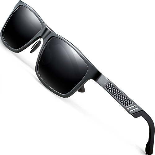 ATTCL Unisex Stil Polarisierte Fahren Sonnenbrille Herren Damen 16560gray