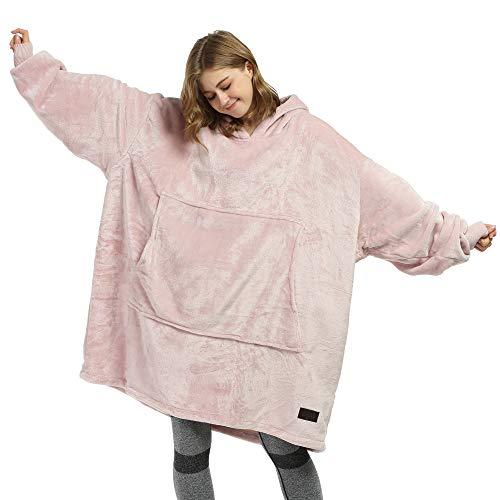 Catalonia Oversized Blanket Hoodie Sweatshirt, Giant Fleece Pullover with Large Front Pocket, Super Soft Warm Comfortable for Adults Men Women Teenagers Kids Wife Girlfriend