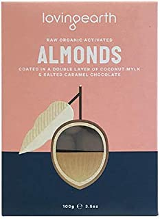 Loving Earth Raw Organic Activated Almonds 100 g