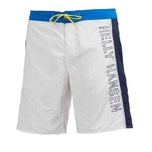 Helly Hansen - Bañador para Hombre con Logo Blanco Blanco Talla:FR: 42 (Talla del Fabricante: 32)