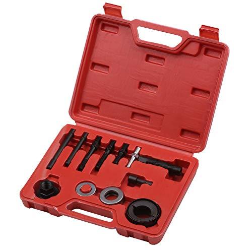 Kshzmoto 12-teiliges Lenkrad-Riemenscheiben-Abzieher- und Installationskit Aus- und Einbauwerkzeug für Buick Ford