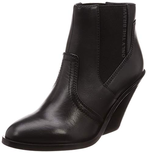 Diesel Damen D-Flamingo CB-Boots Stiefelette, schwarz, 36 EU