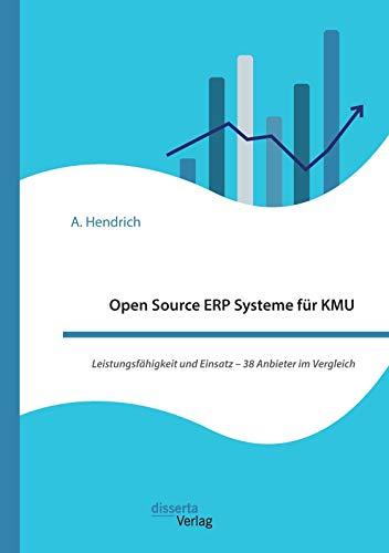 Open Source ERP Systeme für KMU. Leistungsfähigkeit und Einsatz – 38 Anbieter im Vergleich