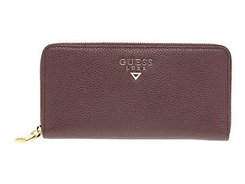 Guess Luxury Fashion Donna SWMALOL8446RED Rosso Pelle Portafoglio |...