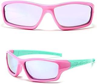 Ruanyi - Chidren Gafas de Sol, Deporte Fuera de conducción Gafas de Sol polarizadas Gafas de Seguridad Gafas de Sol Sun UV400 Gafas de Moda para niños