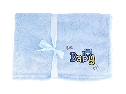 Bieco 38000017 - Kuscheldecke Baby Boy
