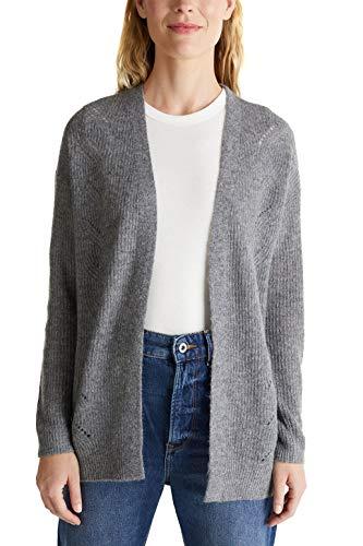 ESPRIT Damen 090EE1I324 Pullover, Grau (019/GUNMETAL 5), XXL
