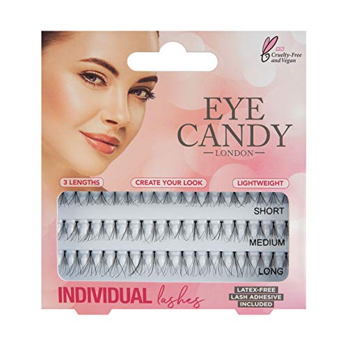 Eye Candy 60 faux cils individuels naturels, style 50's