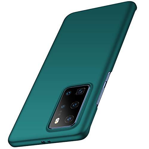 anccer Capa Huawei P40 PRO, [Alta qualidade] [Ultra Slim] Capinha PC Rígida Anti-Arranhões para Huawei P40 PRO (Cascalho Verde)