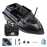 Cebo de pescado, bote de cebo con GPS Cruise, 500 m, con control remoto, 3 compartimentos independientes para cebo, resistente al agua, para herramientas de pesca GPS