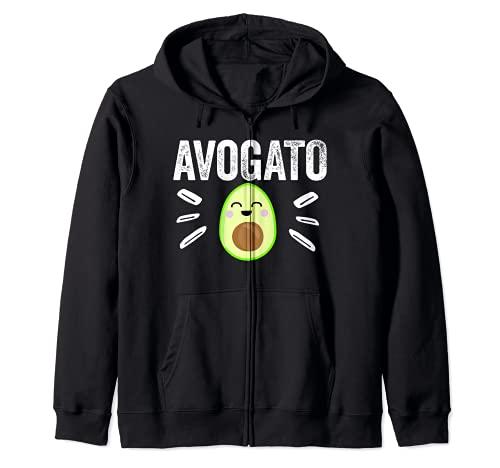 Avogato Graphic Gift - Planta de aguacate para amantes de los alimentos verdes Sudadera con Capucha