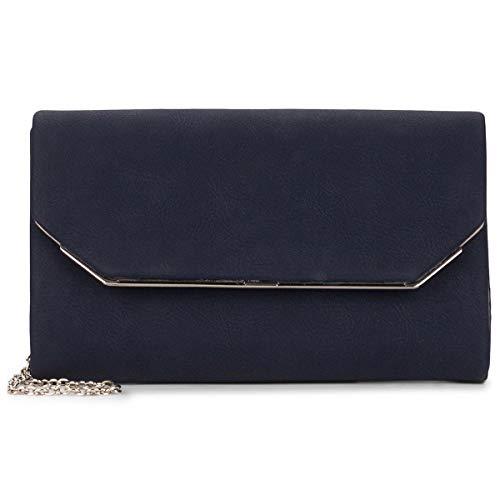 Tamaris Clutch Amalia 30451 Damen Handtaschen Uni blue 500One Size