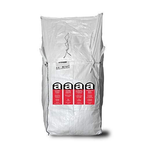 Big Bag 90 x 90 x 110 cm - 1-seitig bedruckt - 1.250 kg SWL - Einfüllschürze zum Zubinden