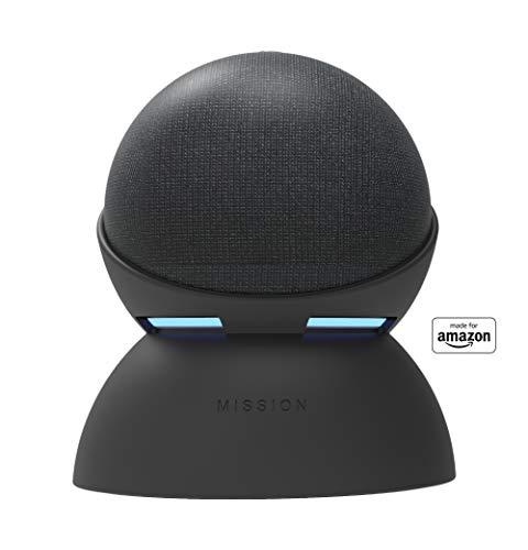 Nueva base con batería Made for Amazon para Echo Dot (4.ª generación), color negro