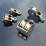 JWGD 36/52 / 75mm Metal de aleación de Zinc de la roldana de polea Fija Corona...