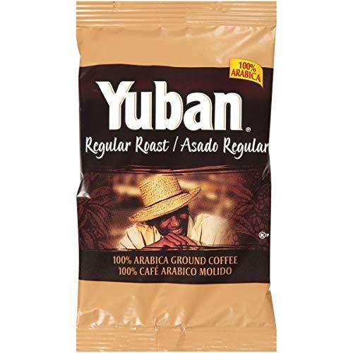 Yuban Regular Roast Ground Coffee (1.1 oz Bags, Pack of 42)