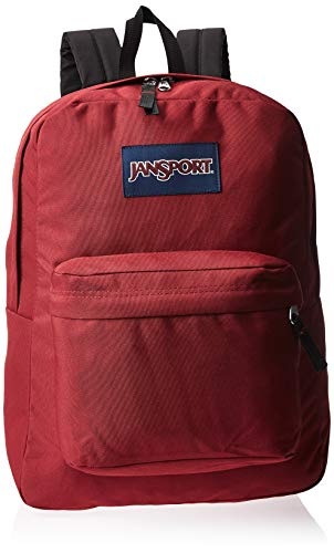 JANSPORT T501 Superbreak Backpack Viking Red School Bag T5019FL - JANSPORT Bags