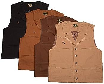 Wyoming Traders Bronco Canvas Vest  Medium Cinnamon