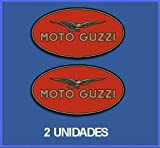 Ecoshirt 9U-FVEP-ZM39 Pegatinas Stickers Guzzi Ref: Dp163 Aufkleber Autocollants Adesivi Moto Decals Motorcycles, 5 cm, Multicolor