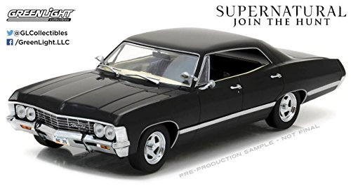 New 1 24 Greenlight Collectibles Supernatural Black 1967