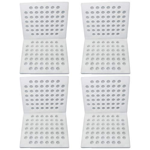 Cabilock Wachtelei-Kartons Wachtelei-Karton für Dutzende Kleiner Eier Wachtelfasan Oder Auerhahnschaum Eierverpackungshalter 4-TLG