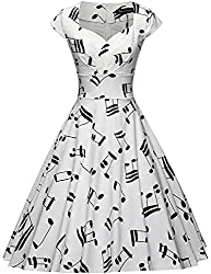 Women's Music Swing Dress - Best Gifts for Music Teachers