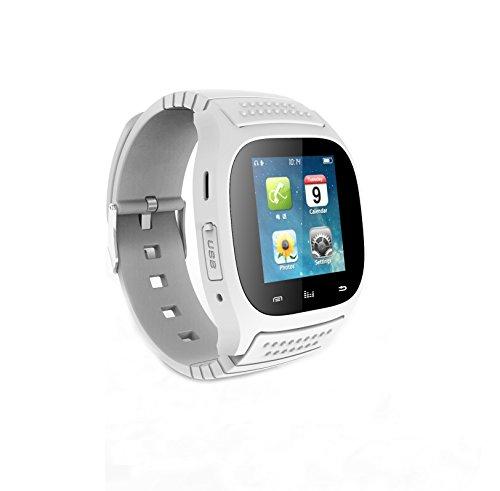 Fashion r di Watch M26Bluetooth Smart LED della luce della vista di orologio con quadrante/chiamata/SMS Promemoria/Music Player/Anti-perso/Passometer/termometro