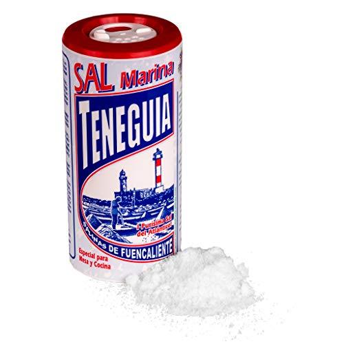 LOUXA Sal Marina Teneguia Meersalz Salzstreuer aus La Palma 100% ökologisch 100 g (59,90 € / kg)